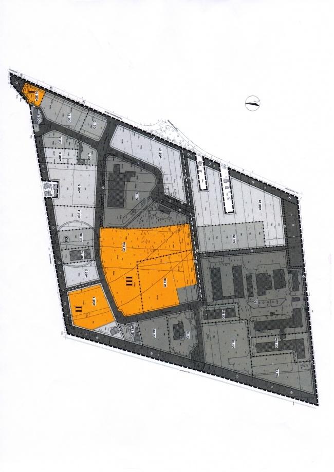 Die grosse orangene Fläche