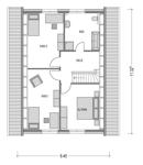 Modicus M 53 Dachgeschoss