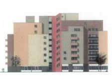 geplante Fassade