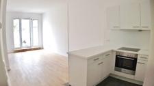 Wohnbereich m. offener Küche