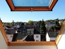 Ausblick vom Dachzimmer