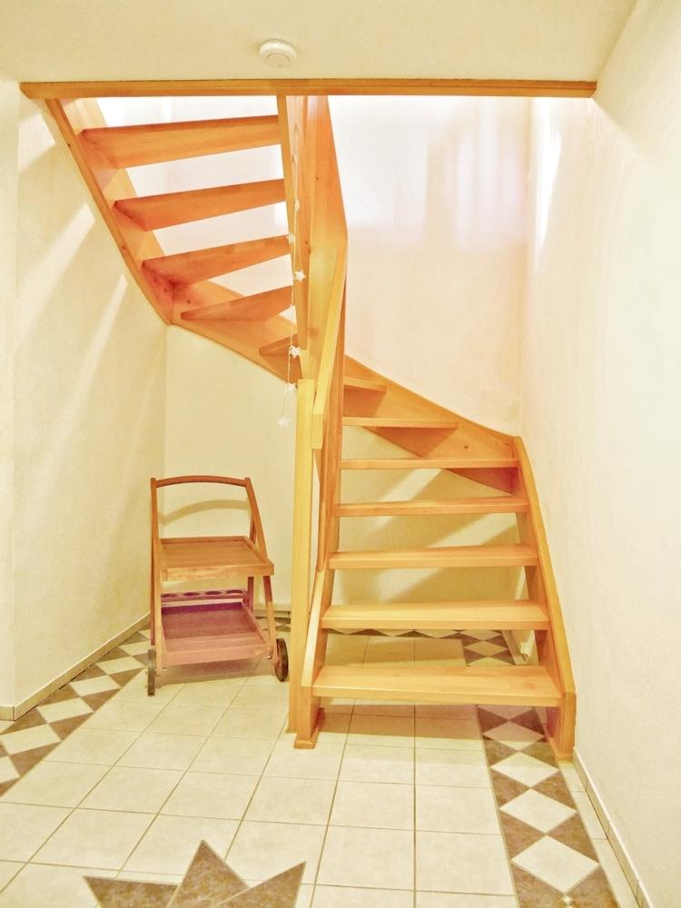 Treppe im Keller