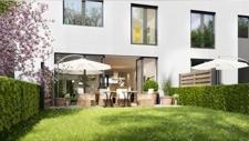 Garten mit Terrasse  - Bild Wilma -