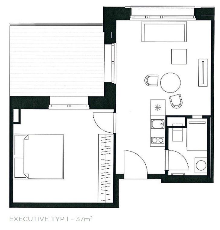 Executive Typ I - 37 m²