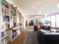 (WHG) offener Wohnraum mit Bibliothek