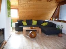 Gemütliche Sofa-Ecke
