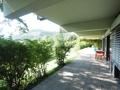 Terrasse vor den Wohnräumen