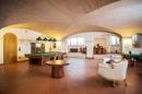 Billardzimmer im Souterrain