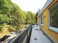 Balkon am Waldrand