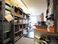 Lagerbereich für Büromaterialien