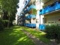 Gartenansicht der Balkone