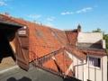 Dachterrassen vor dem Dachboden