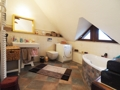 Badezimmer im Dachgeschoss