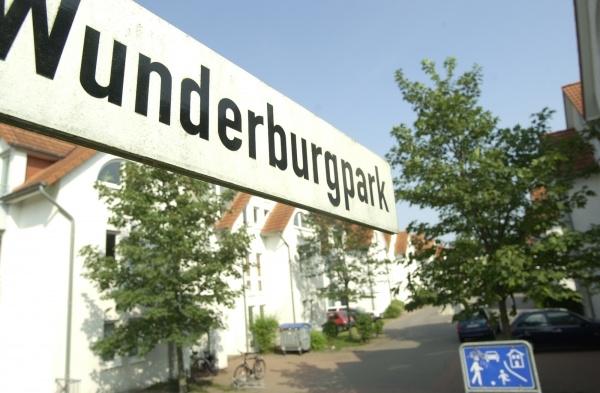 Wunderburgpark Schild 1