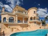 Fachada y piscina en Sol de Mallorca