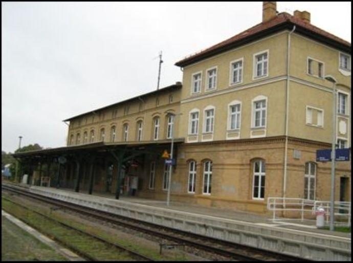 Ansicht Bahnsteigseite