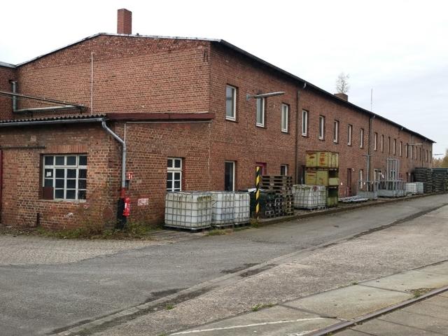 Verwaltungsgebäude am ehem. Lokschuppen