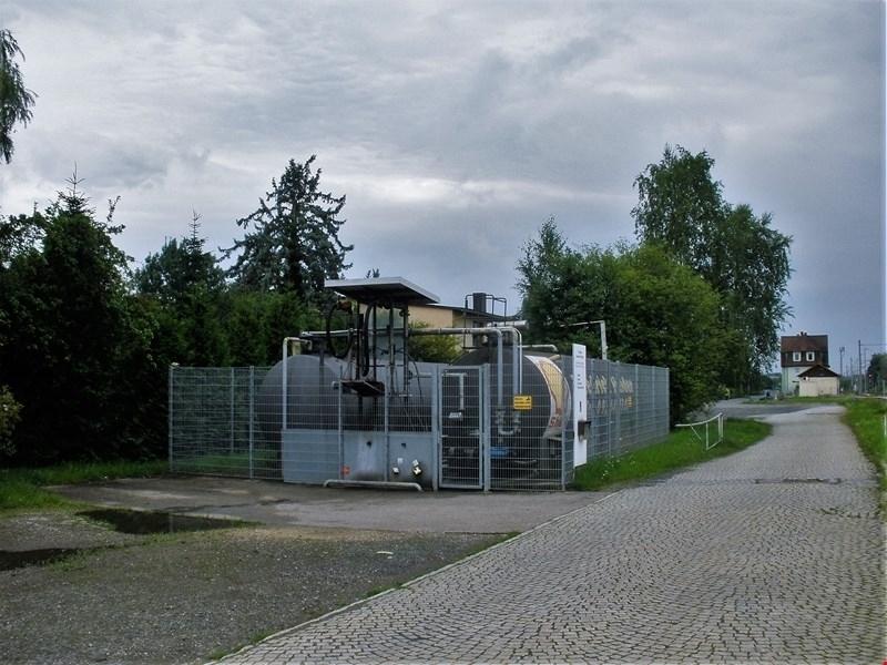 Blick Richtung Bahnhof