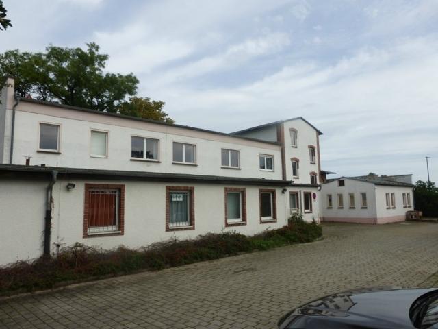Delitzsch Hofseite Gebäude