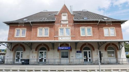 Bahnhof Giengen