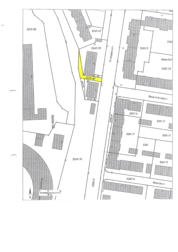 Grundveräußerungsfläche Augsburg Flst. 5249-82