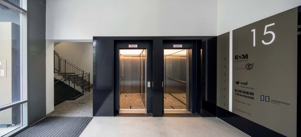 Aufzugsvorraum