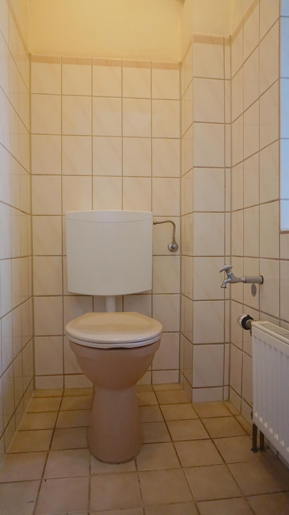 WC Treppenhaus EG