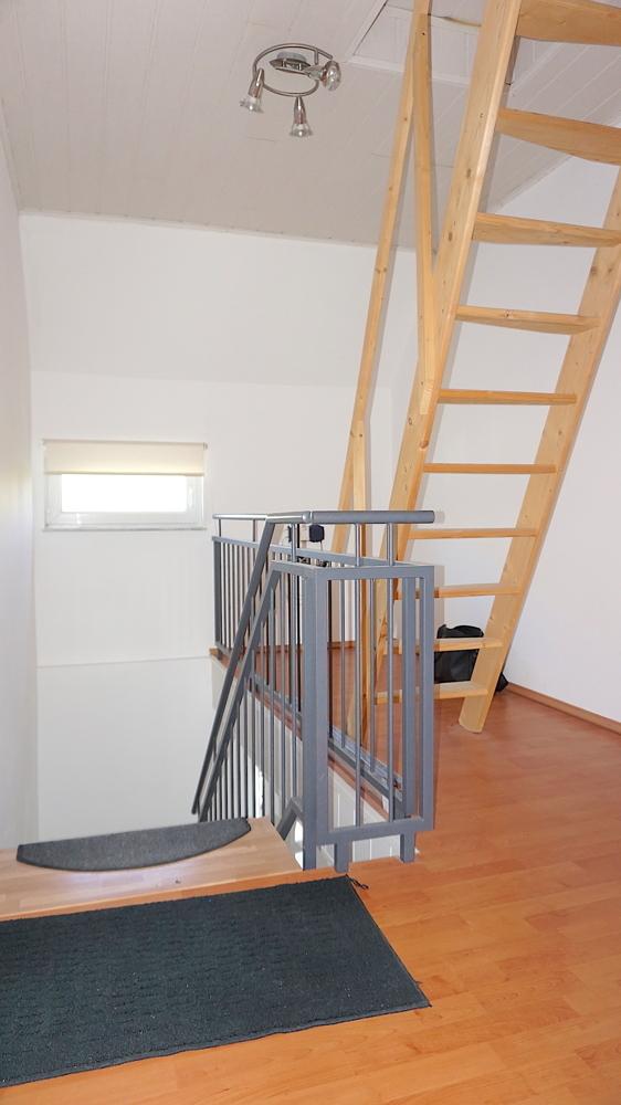 Treppenaufgang Dachspeicher