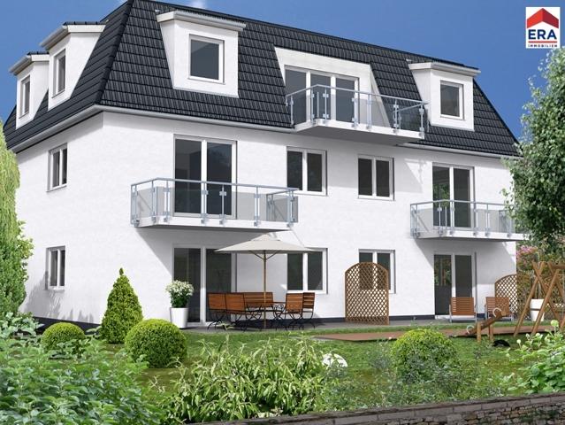 Visualiung Mehrfamilienhaus Müggelheim