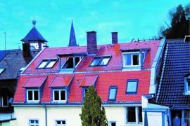 Ganz oben am Rande der Altstadt wohnen!
