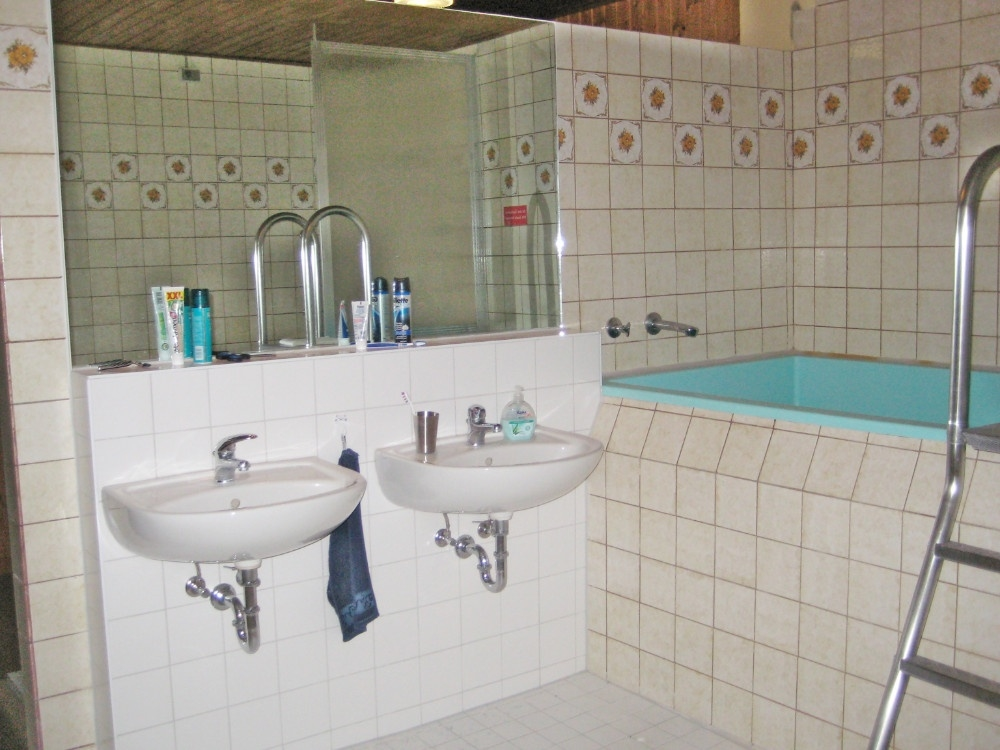Waschbecken Badezimmer