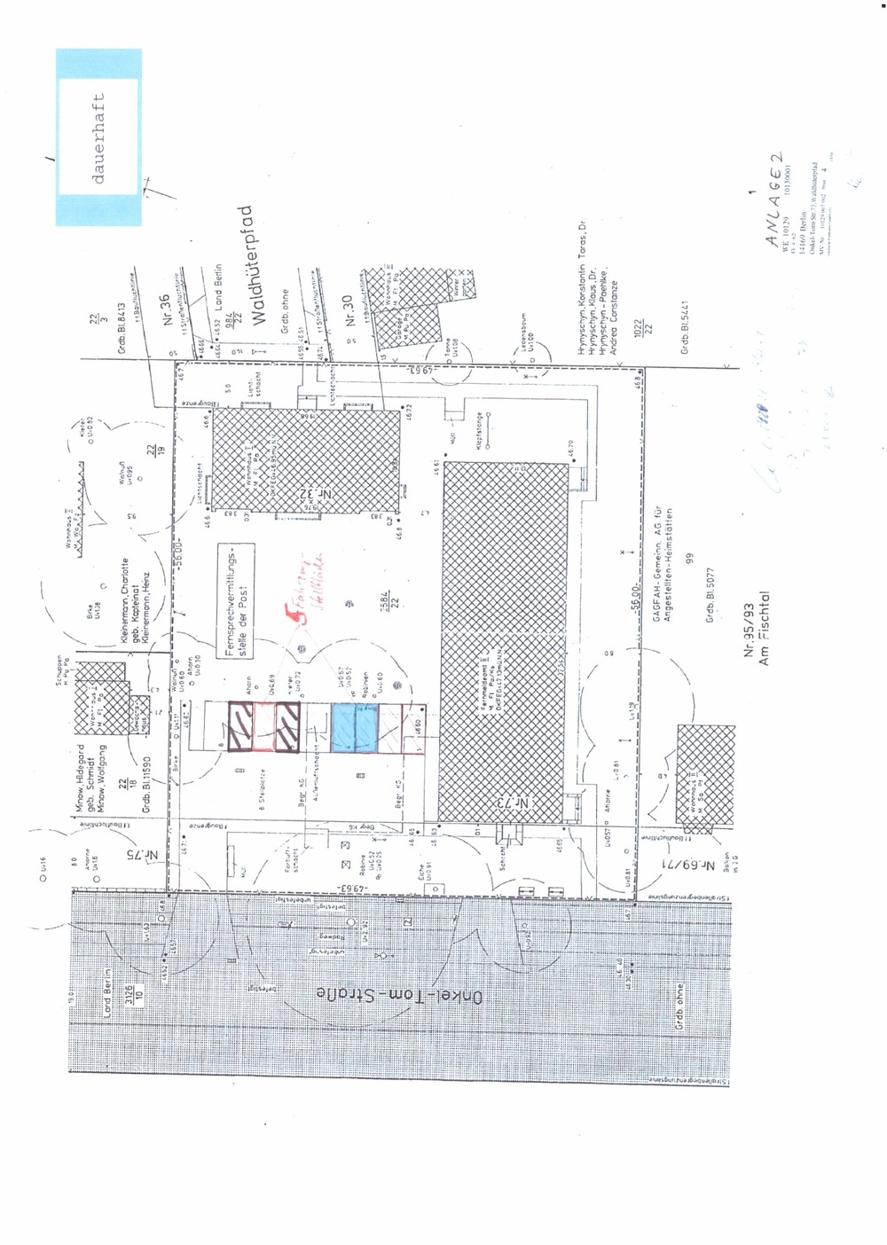 Grundstück Parkplätze