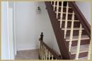 Treppenhaus hell und freundlich