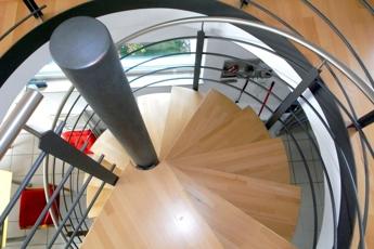 Imposanter Treppenaufgang