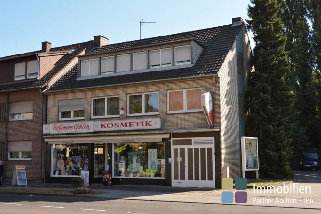 Das Wohn- und Geschäftshaus in Mariadorf