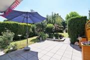 Wunderschön angelegter Garten
