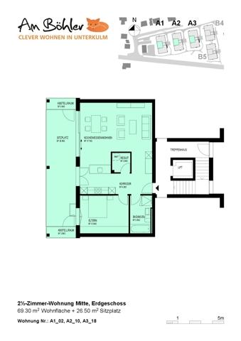 Grundrissplan A3-18