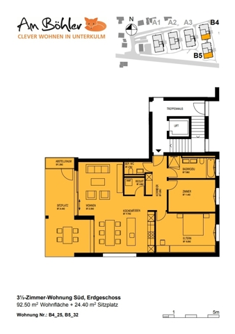 Grundrissplan B4-25