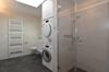 Nasszelle mit Dusche, Waschturm...