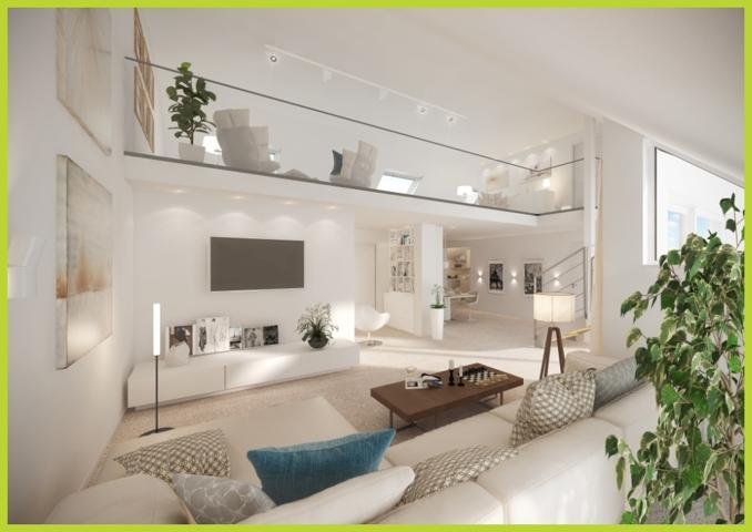 Galerie- Penthouse Wohnung viertuell aufbereitet W 17050