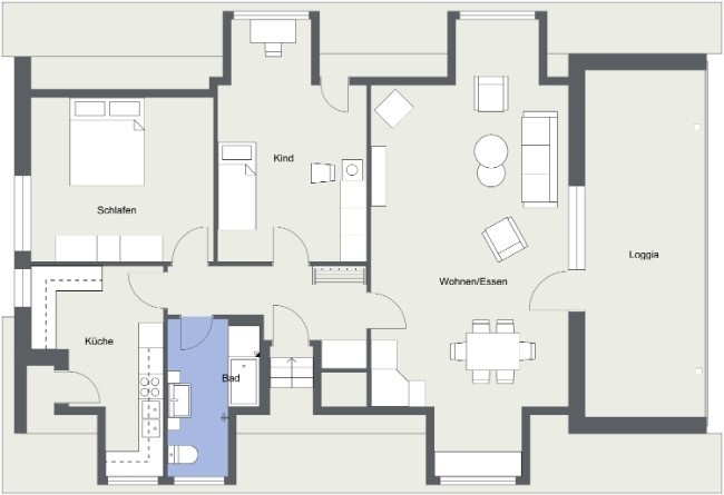 WEI1703 - DG - 2D Floor Plan