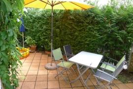 16 qm Garten-Terrasse