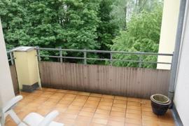kleine Terrasse mit Morgensonne :-)