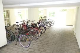 Unterstellplatz für Fahrräder
