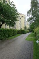 Zugang zur Wohnanlage Wartburgplatz