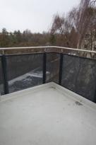 SÜD-Balkon teilüberdacht