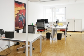 Büro 2, Teilansicht