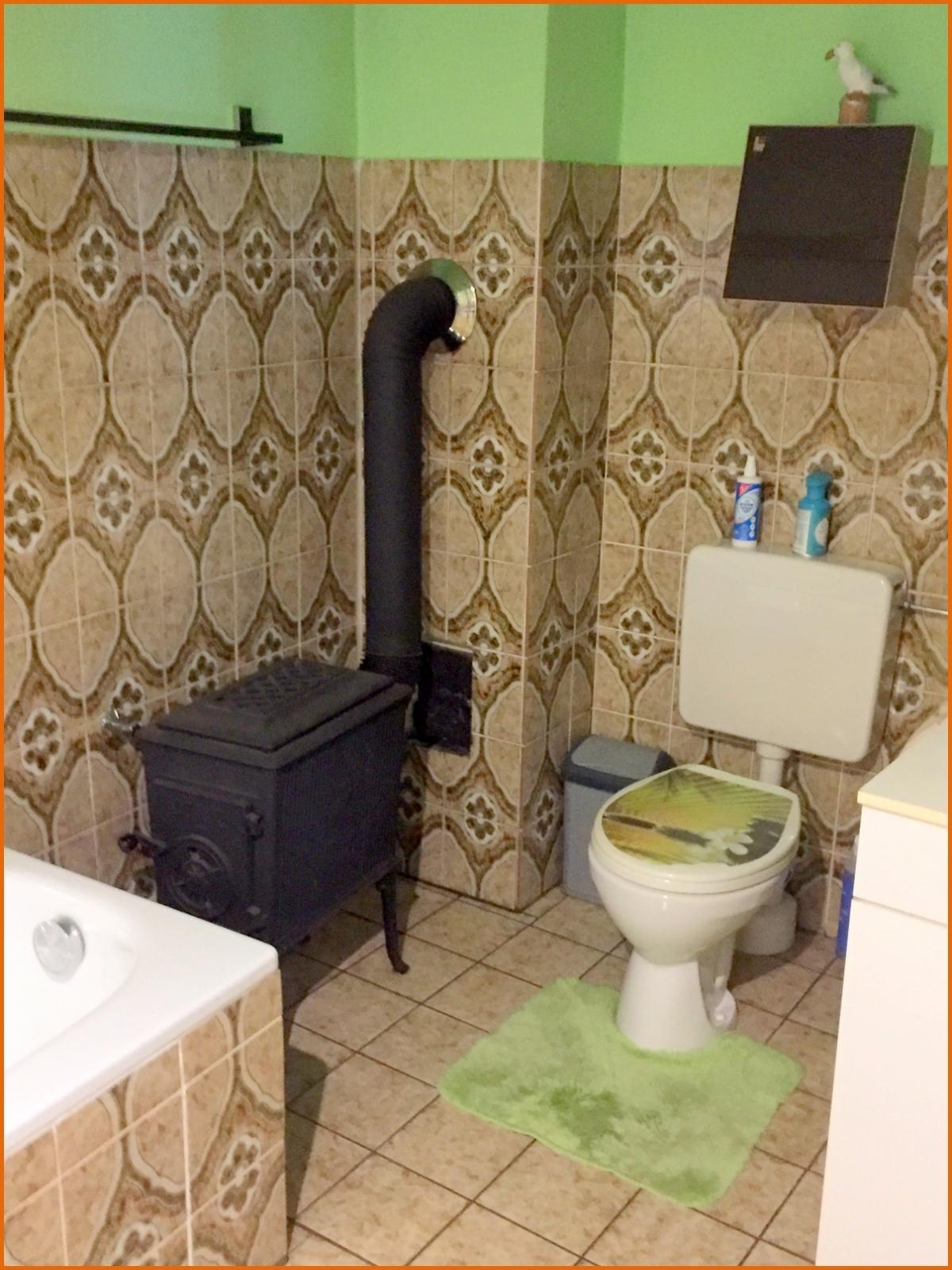Holzofen Badezimmer