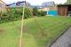 Gartenansicht mit Hütte