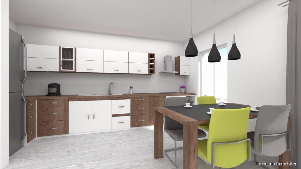 Ob offene oder geschlossene Küche- beide Varianten sind möglich.